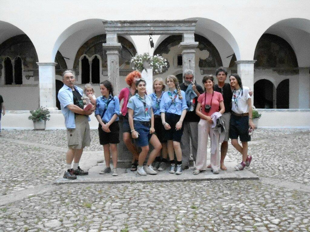 Tagliacozzo accoglienza gruppo scouts